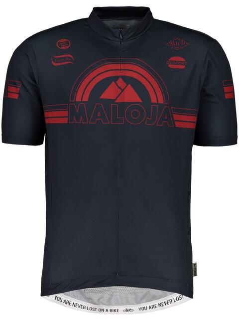 Maloja PlajetM. Short Sleeve Bike Jersey Men mountain lake